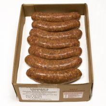 Cajun Brand Bratwurst  - Carton